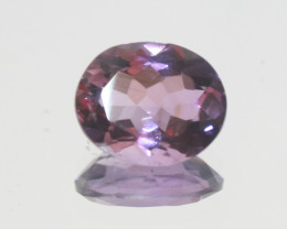 3.8 Ct Amethyst  Faceted Oval 12x10mm.-(SKU 402)