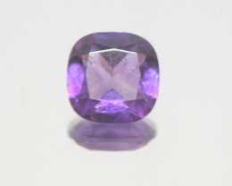 3.4 Ct Amethyst  Faceted Square 10mm.-(SKU 403)