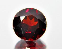 1.98 Cts Unheated Natural Cherry Pinkish Red Rhodolite Garnet Gemstone
