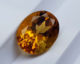 3.79Crt Madeira Citrine Natural Gemstones JI39