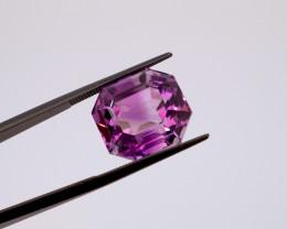 15.61 CT FREE SHIPPING! Custom Fancy Cut Purple Amethyst (Uruguay)