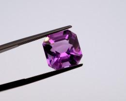 6.66 CT FREE SHIPPING! Custom Fancy Cut Purple Amethyst (Uruguay)