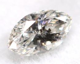 Salt And Pepper Diamond 0.10Ct Untreated Genuine Fancy Diamond A0606