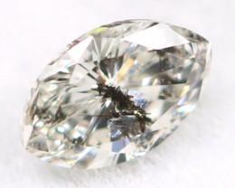 Salt And Pepper Diamond 0.09Ct Untreated Genuine Fancy Diamond B0602