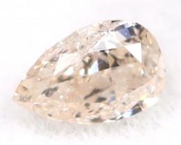 Peach Pink Diamond 0.09Ct Untreated Genuine Fancy Diamond B0604
