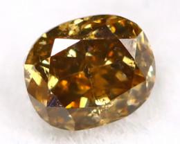 Champagne Diamond 0.14Ct Untreated Genuine Fancy Diamond B0611
