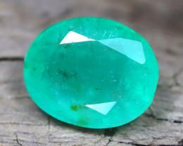Zambian Emerald 1.59Ct Natural Green Color Zambian Emerald C0603