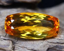 Madeira Citrine 7.15Ct Octagon Cut Natural Orange Citrine C0605