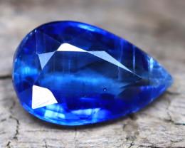 Kyanite 2.54Ct Pear Cut Natural Himalayan Royal Blue Color Kyanite C0606
