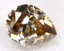 Brownish Purple Diamond 0.11Ct Untreated Genuine Fancy Diamond C0607