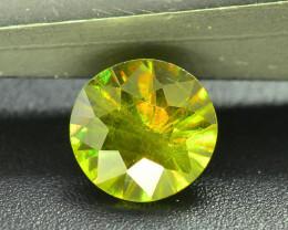 Read Description 0.55 ct Sparkle Chrome Sphene