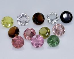 2.98 Crt Natural Tourmaline Faceted Gemstone.( AB 86)