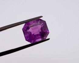 6.34 CT FREE SHIPPING! Custom Fancy Cut Purple Amethyst (Uruguay)