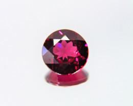 1.60 Cts Unheated Natural Cherry Pinkish Red Rhodolite Garnet Gemstone