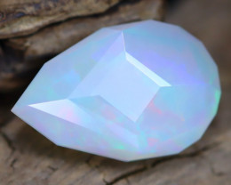 Welo Opal 3.30Ct Master Cut Natural Ethiopian Flash Color Welo Opal C0705