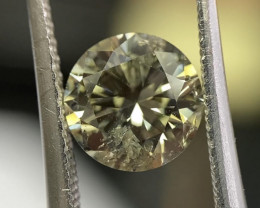 Hot Deal GIA Round 1.50 Carat Natural Loose Polished Chameleon Diamond