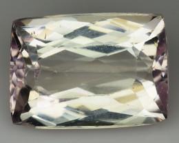 9.92 Natural Kunzite Awesome Color & Cut Gemstone KZ18