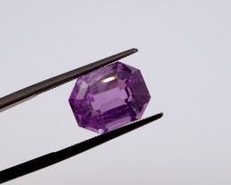 7.36 CT FREE SHIPPING! Custom Fancy Cut Purple Amethyst (Uruguay)
