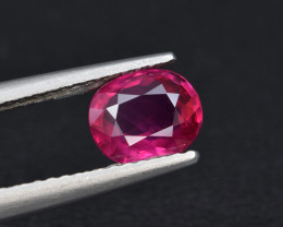 Natural Ruby 1.10 Cts, Top Grade Gemstone from Mozambique