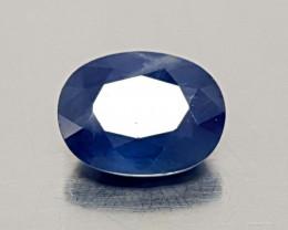 2CT BLUE SAPPHIRE HEATED BEST QUALITY GEMSTONE IIGC51