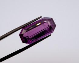 13.13 CT FREE SHIPPING! Custom Fancy Cut Purple Amethyst (Uruguay)