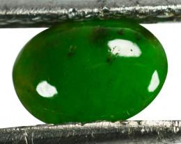 ~UNTREATED~ 0.88 Cts Natural Green Jade Cabochon Burmese