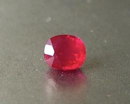 0.6ct natural unheated Burmese ruby