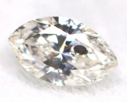 Salt And Pepper Diamond 0.08Ct Untreated Genuine Fancy Diamond A0802