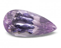 8.70 ct Pear Kunzite - $1 No Reserve Auction