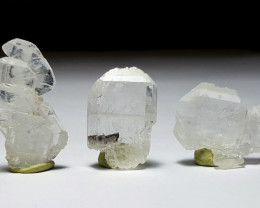 Amazing Natural Damage free lovely 3 crystals of Fedden Quartz 70Cts-P