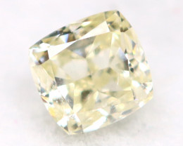 Light Yellow Diamond 0.15Ct Untreated Genuine Fancy Diamond AT0255