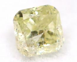 Yellow Diamond 0.16Ct Untreated Genuine Fancy Diamond AT0258