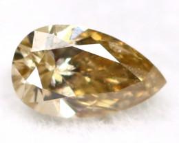 Brown Diamond 0.10Ct Untreated Genuine Fancy Diamond AT0260