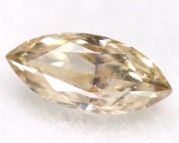 Champagne Diamond 0.13Ct Untreated Genuine Fancy Diamond AT0263