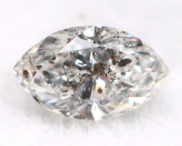 Salt And Pepper Diamond 0.07Ct Untreated Genuine Fancy Diamond AT0276