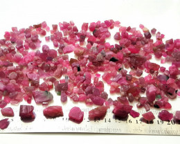 Amazing Natural color Hot Pink color Rough gemmy Tourmaline 1050Cts-A
