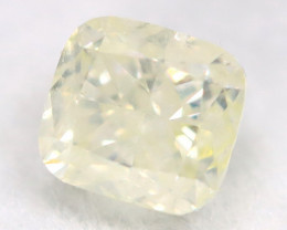 Yellow Diamond 0.35Ct Untreated Genuine Fancy Diamond AT0282