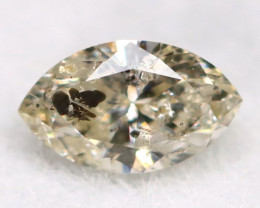 Salt And Pepper Diamond 0.09Ct Untreated Genuine Fancy Diamond AT0284