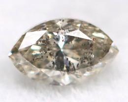 Salt And Pepper Diamond 0.08Ct Untreated Genuine Fancy Diamond AT0286