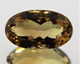 16.90 Cts Amazing Rare Fancy Golden Yellow Quartz Natural Gemstone