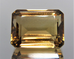 12.30 Cts Amazing Rare Fancy Golden Yellow Quartz Natural Gemstone