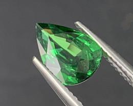 1.61 Cts Vivid Green AAA Quality Natural Tsavorite Garnet