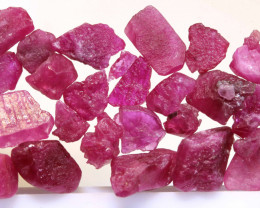 20 CTS BURMA RUBY ROUGH RICH PINKY RED PARCEL RG-5337