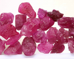 20 CTS BURMA RUBY ROUGH RICH PINKY RED PARCEL RG-5376