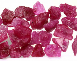 20 CTS BURMA RUBY ROUGH RICH PINKY RED PARCEL RG-5379