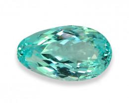 1.81 Cts Stunning Lustrous Neon Blue Paraiba