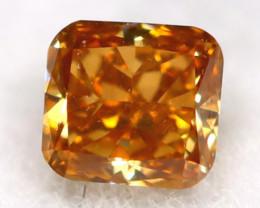 Orange Diamond 0.08Ct Untreated Genuine Fancy Diamond AT0298