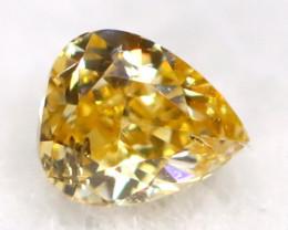 Yellow Diamond 0.05Ct Untreated Genuine Fancy Diamond AT0299