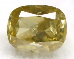 Green Diamond 0.19Ct Untreated Genuine Fancy Diamond B0909
