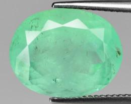 11.30 Cts Natural Vivid Green Colombian  Emerald Loose Gemstone